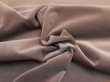 CONTRACT QUALITY MINK (B) Velvet Upholstery FABRIC Remnant - PRICE IS PER METRE