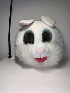 Adult Dan Dee Big Greeter Maskimal Rabbit Bunny Head Fur Costume Mask One Size