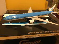 1:200 Gemini200 KLM Boeing B777-300ER RARE Model!