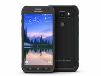 Samsung Galaxy S6 Active SM-G890A 32GB Gray AT&T GSM Unlocked LCD Burn Excellent