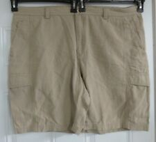 47a1cf4263 Tommy Bahama Mens Brown Shorts Size 44 Tencel Lyocell Cotton Blend Cargo