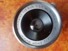 Leica Summaron 35mm f/3.5 Lens LTM. M39 screw mount 1958