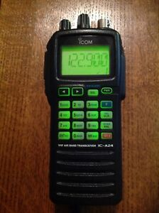 ICOM A-24 TRANSCEIVER PACKAGE / Free Shipping
