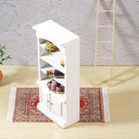 Dollhouse Miniature White & Lilac Bathroom Shelf Cabinet inch 1:12 scale I1G9