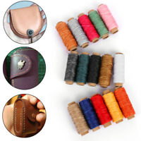 50M 150D 1MM Leather Sewing Waxed Wax Thread Hand DIY Stitching Cord Craft