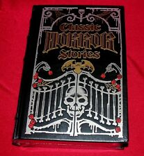Classic Horror Stories - Lovecraft, Poe, Stroker and more - Gilded Leather Bound