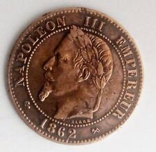 2 centimes NAPOLEON III 1862-K (BORDEAU)