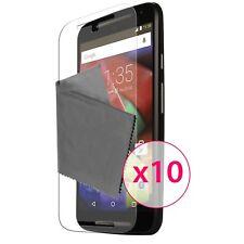 10X Films de protection Motorola Moto G 4G (V2 2014) Clubcase® 3H Ultra Clear HD