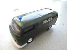Schuco VW T2 Polizei Metall-Edition 1/87 aus Sammlung in Faltschachtel (9)