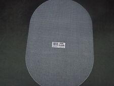 """2 fogli di forma ovale 7 conteggio PLASTIC CANVAS TAGLIA 12 """"x 18"""""""