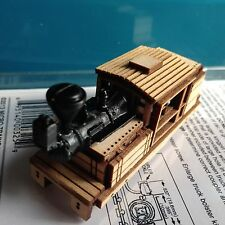 ULRICH N SCALE LASER CUT CLIMAX LOGGING STEAM LOCOMOTIVE BALLOON STACK BODY ONLY