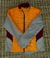 Pearl Izumi Men's Full Zip Ltweight Jacket Coat Cold Weather Quilted Sz Medium