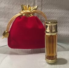 Dior Miss Dior PERFUME PARFUM VINTAGE RIGGED BOTTLE 22K GOLD PLATED TOP POUCH 4m