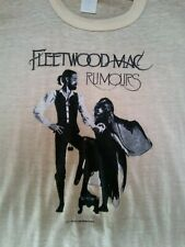 Vintage 1977 Fleetwood Mac Tour Shirt Sz Medium Stevie Nicks* Rare !