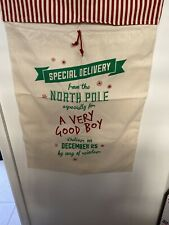 "Large Christmas Toy Sack ""A Very Good Boy� Lot 2"