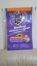 Hot Shot Bedbug Mattress And Luggage Treatment Bag Kit Brand New