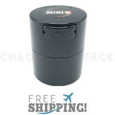 Airtight Smell Proof Vacuum Sealed Container - Black -TightVac .12 Liter MiniVac