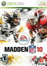 XBOX 360 Madden NFL 10 Video game - Video game for XBOX 360