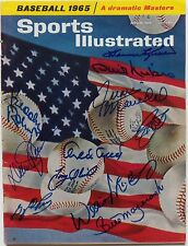 MULTI-SIGNED April 19, 1965 Sports Illustrated Signed by 9 HOFers and 2 Others