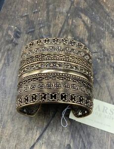 Barse Guinevere Cuff Bracelet- Bronze- NWT