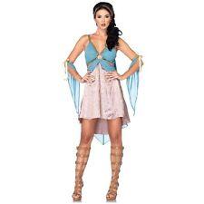 GOLDEN GODDESS GREEK ADULT HALLOWEEN COSTUME WOMEN'S SIZE SMALL