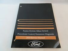 2010 Ford Fusion Milan Hybrid Powertrain Emission Service Manual OEM Factory