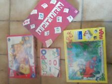 Kinderbrettspiele 4er Paket Alle Neu