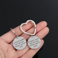 Need You mom Letter Key Chain Letter Keyring It doesn't Matter How Old I get