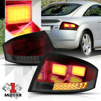Red/Smoked *Tron LED Bar* Neon Tail Light Brake Lamp for 99-06 Audi TT/Quattro
