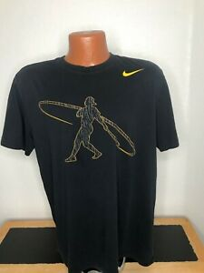 Men's Nike Ken Griffey Dri-FIT S/S T-Shirt Size Large (L) BLACK