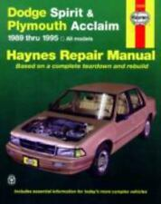 Dodge Spirit & Plymouth Acclaim [89-