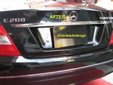 Free Shipping - Chrome Trunk Lid Trim For 2007-2014 Mercedes Benz W204 C-Class