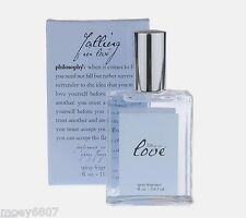 New 2oz Philosophy *FALLING IN LOVE* Romantic Perfumed Spray Fragrance BOXED EDT