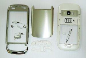 Full white fascia housing cover facia faceplate case for Nokia C7 white housing
