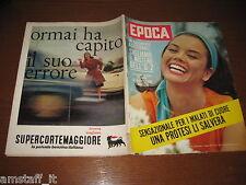 EPOCA 1962/612=MOTO GUZZI FABBRICA=VALERIA MORICONI=VITTORIO POZZO=QUILICI FALCO