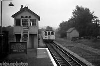 London Underground Central Line Ongar Signal box Rail Photo