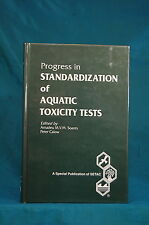 Progress in Standardization Aquatic Toxicity Tests Soares Lewis Publishers 1993