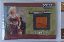 Xena Gabrielle Renée O'Connor GC3 costume card Lucy Lawless