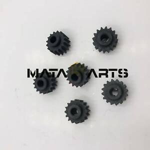 10PCS Rubber Gear Fits Hitachi Excavator EX120 EX200-5/6 EX220 Parts