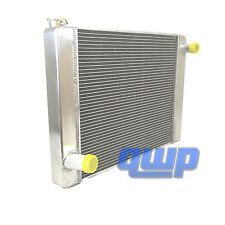 "New Universal Fabricated Aluminum Racing Radiator For Ford Mopar 24"" x19"" x3"""