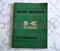 99997-709 Manuel d'atelier en Anglais KAWASAKI KS 125 1973