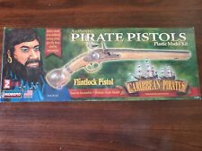 Lindberg Authentic Caribbean Pirate Pistols The Flintlock Plastic Model Kit