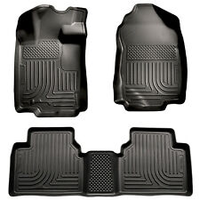 For: FORD FUSION; 98361 Heavy Duty Floor Liners Mats 3 Piece Kit Trim 2010-2012