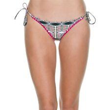 Volcom Nomad Tide Skimpy Bikini Bottoms NWTs Geometric Multi Color XL Juniors