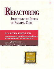 Refactoring: Improving the Design of Existing Code by Martin Fowler, John Brant,