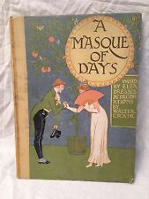 Walter Crane - A Masque of Days - 1st/1st 1901 - Cassell -  Lovely Illustrations