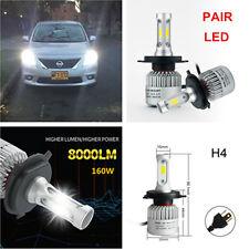 2xAuto Car LED H4 HB2 Hi/Lo 2 Bulbs Fog Driving Headlight Kit 160W 16000LM 6000K