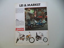 advertising Pubblicità 1975 FANTIC LEI 50/SUPER ROCKET/TI/CHOPPER