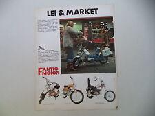 advertising Pubblicità 1975 FANTIC LEI 50/SUPER ROCKET/TI/CHOPPER