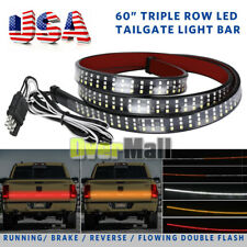 "3 Row LED Truck Sequential Signal 60"" Tailgate Light Strip Bar for Ford F-150 US"
